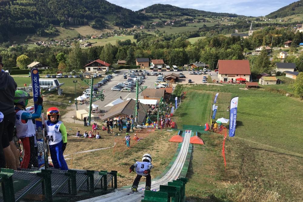 Concours de saut en ski alpin Aigles d'Or