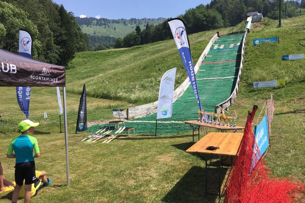 Le saut à ski