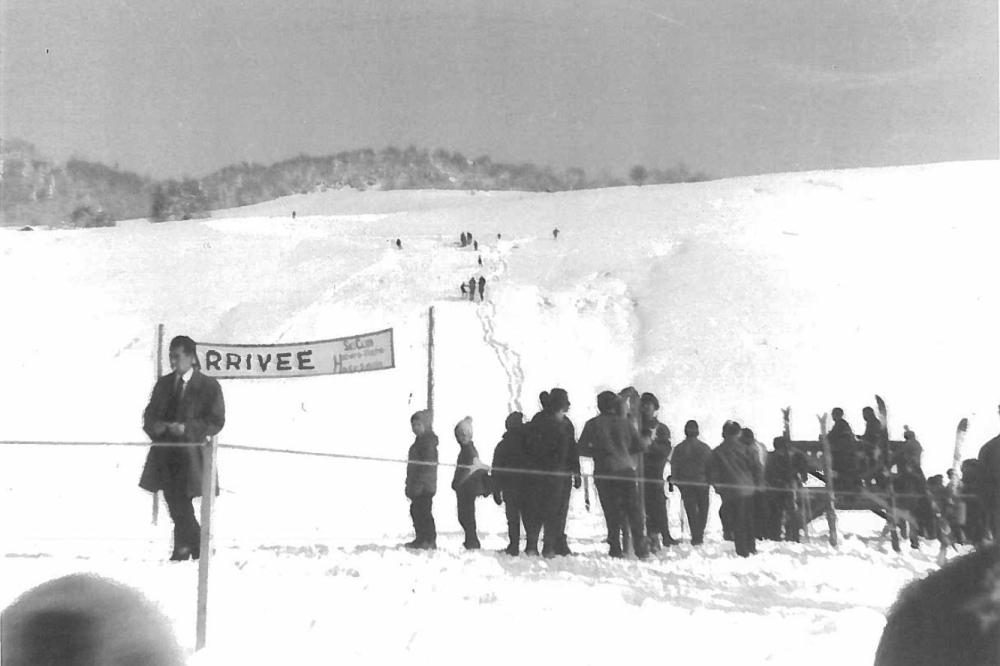 80 ans de ski club à Habère-Poche